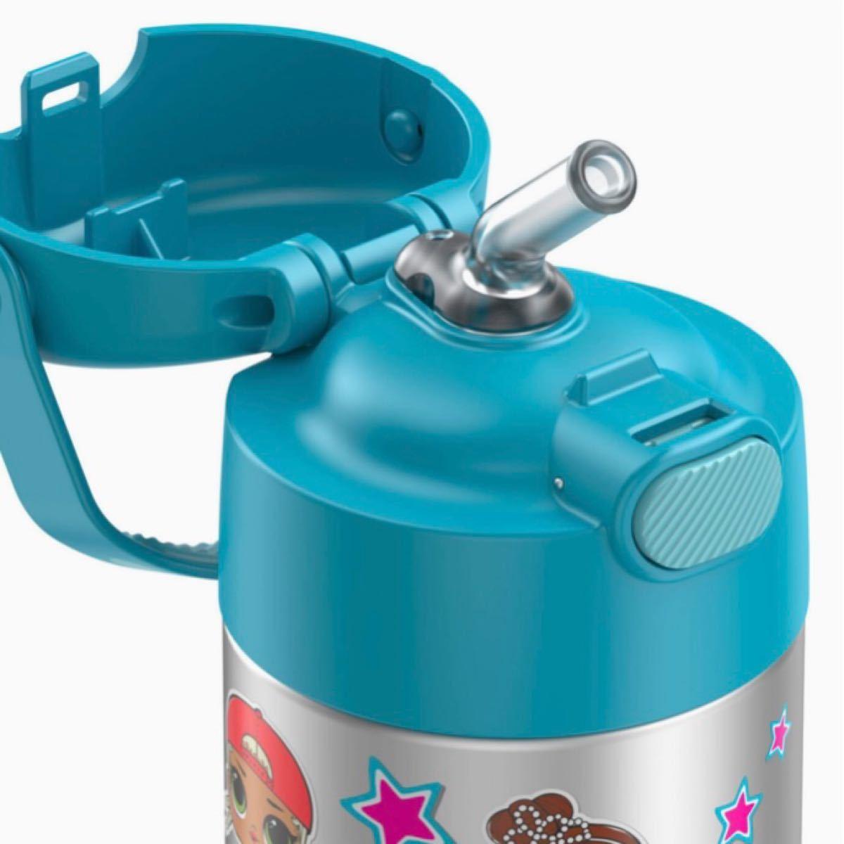 サーモス LOLサプライズ ステンレス 真空断熱 ストロー保冷用水筒