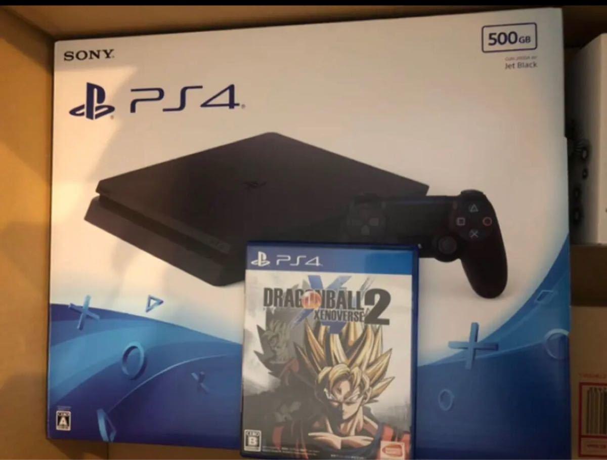 ほぼ未使用 PS4本体 PlayStation4 プレイステーション4 PS4ソフト