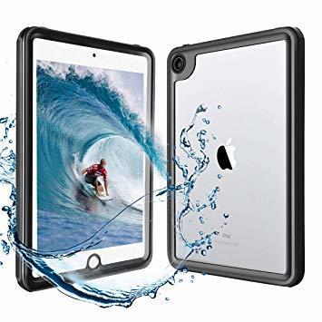 黒 HouseBoye iPad mini5 防水ケース アイパッド IP68防水規格 タブレットケース 耐衝撃 全面保護アイ_画像1