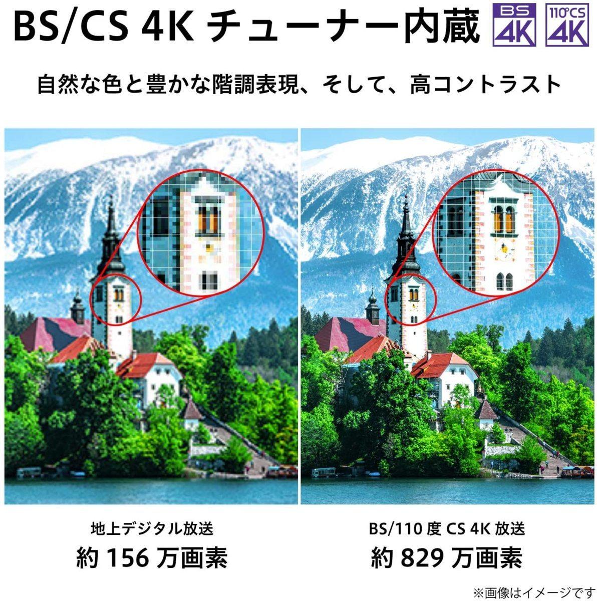 東芝 55V型BS・CS 4Kチューナー内蔵4k液晶テレビ 55M530X パワーオーディオシステム/ゲームモード/2画面分割 引取可 2021/8まで保証有_画像2