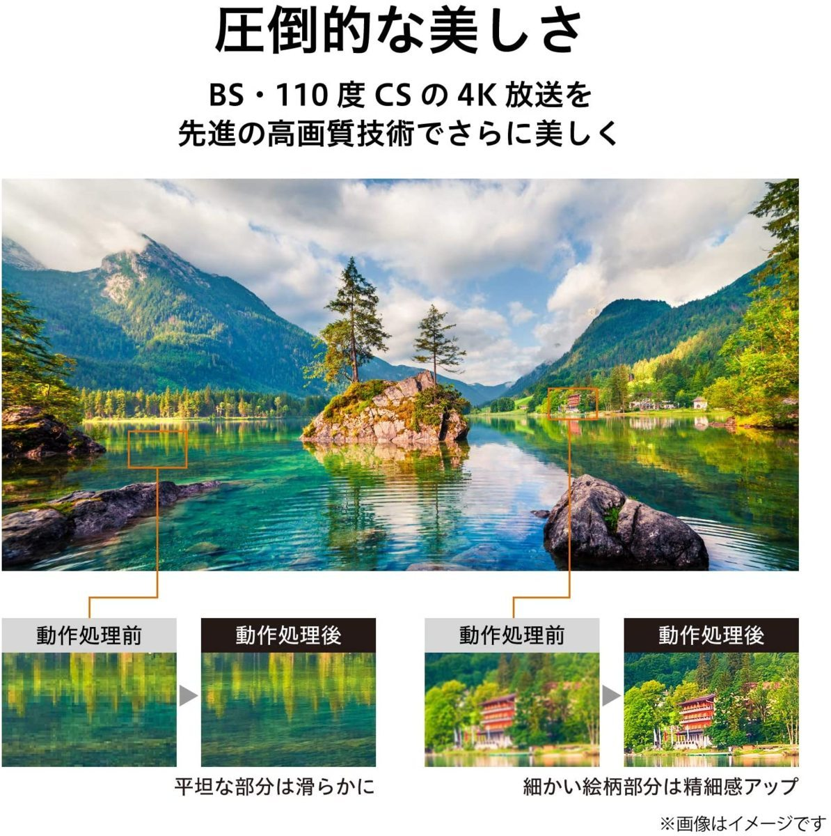 東芝 55V型BS・CS 4Kチューナー内蔵4k液晶テレビ 55M530X パワーオーディオシステム/ゲームモード/2画面分割 引取可 2021/8まで保証有_画像3