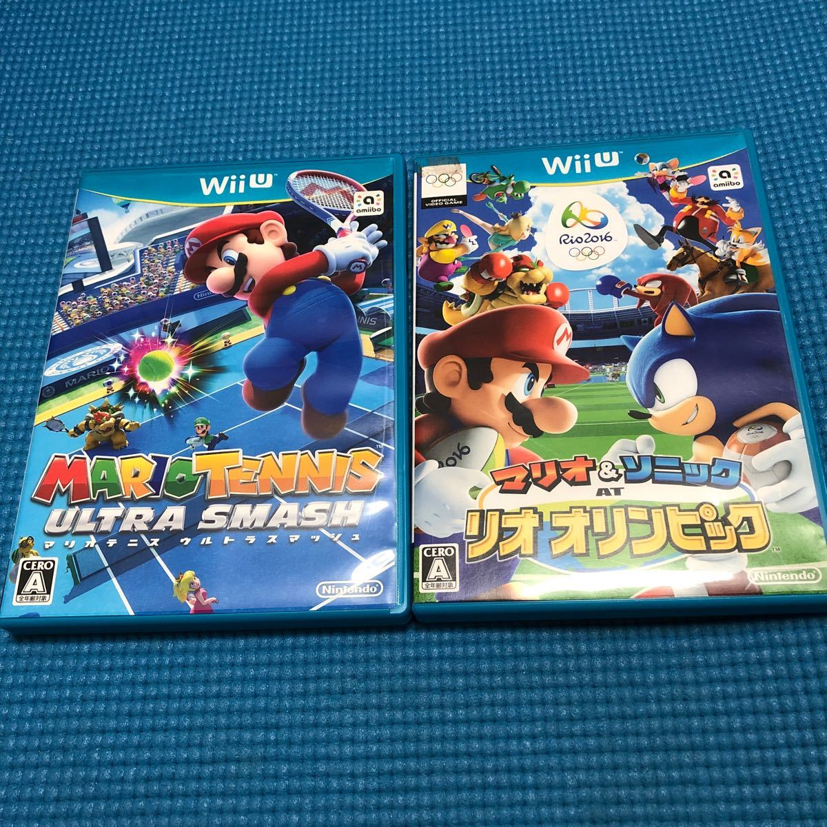 【Wii U】 マリオテニス ウルトラスマッシュ、マリオ&ソニックatリオオリンピックセット