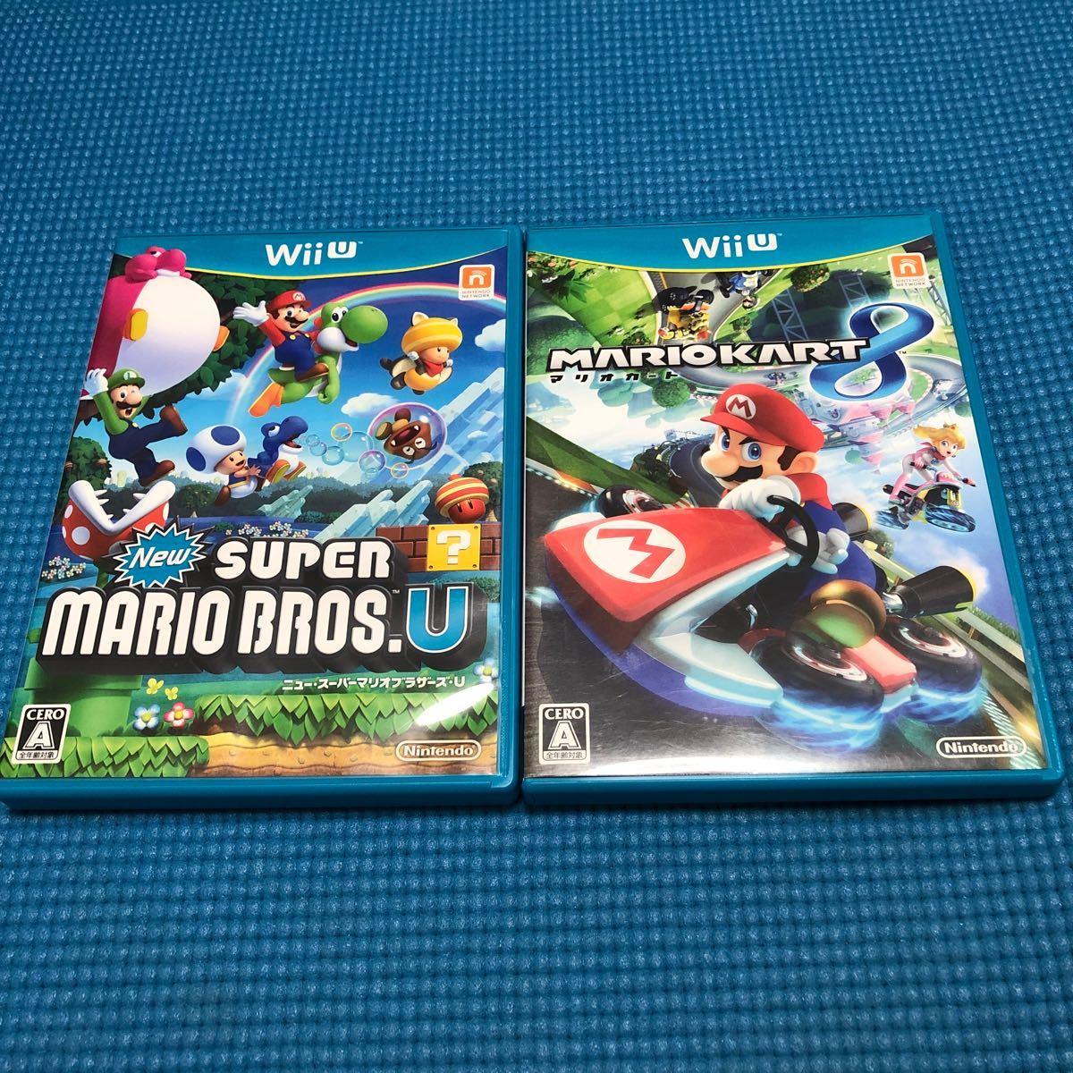 【Wii U】 マリオカート8、ニュースーパーマリオブラザーズUセット