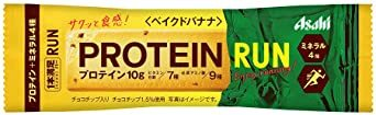 アサヒグループ食品 1本満足バープロテイン・ランベイクドバナナ 1本 ×9袋_画像1