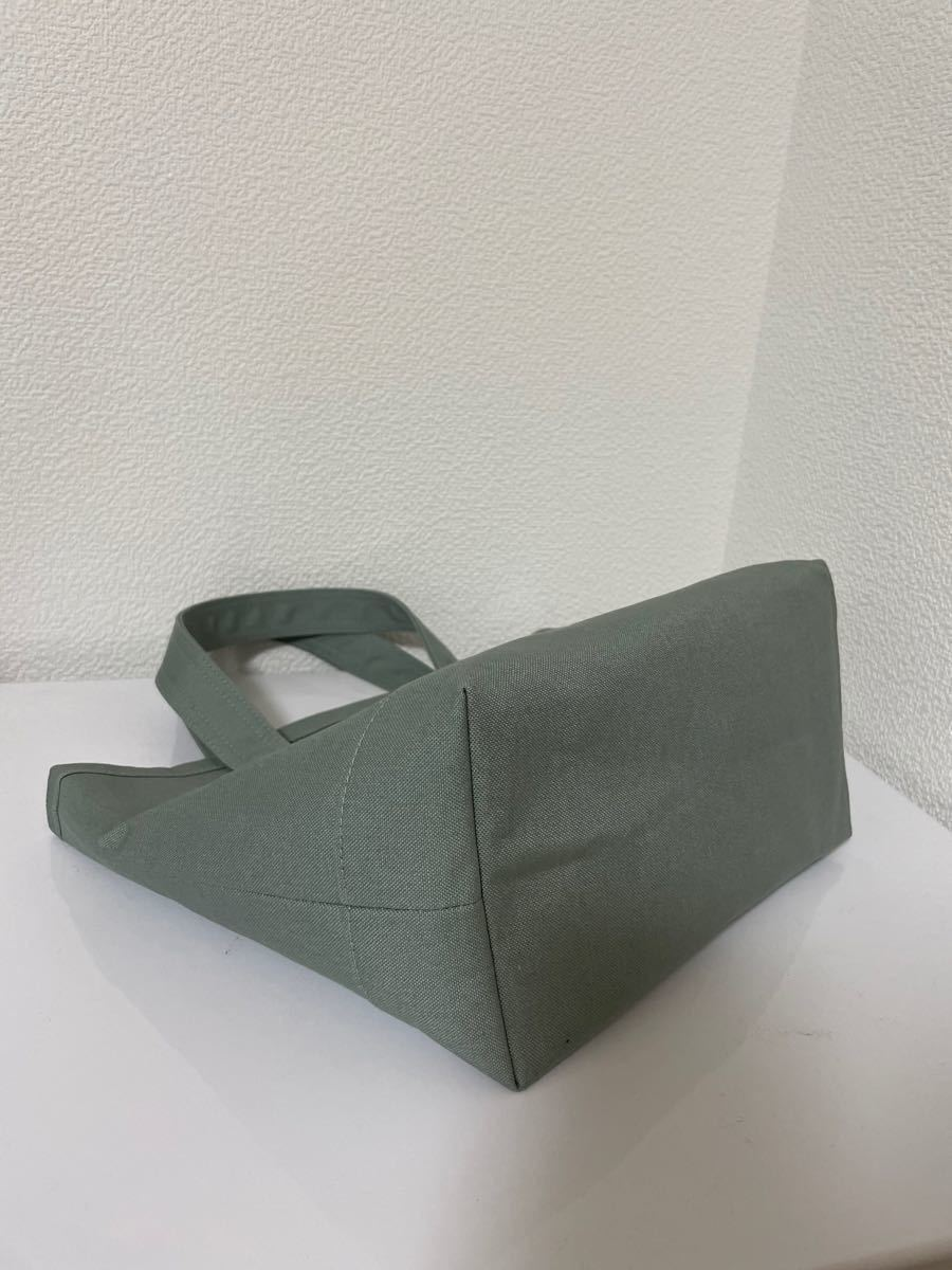 ハンドメイド トートバッグ 帆布