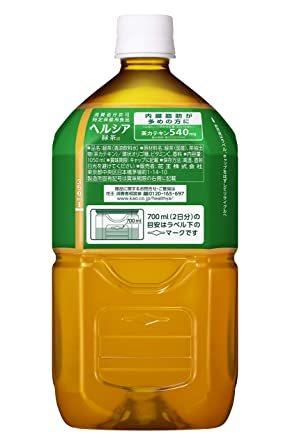 [訳あり(メーカー過剰在庫)]1.05L×12本 [トクホ] [訳あり(メーカー過剰在庫)] ヘルシア 緑茶 1.05L &ti_画像3