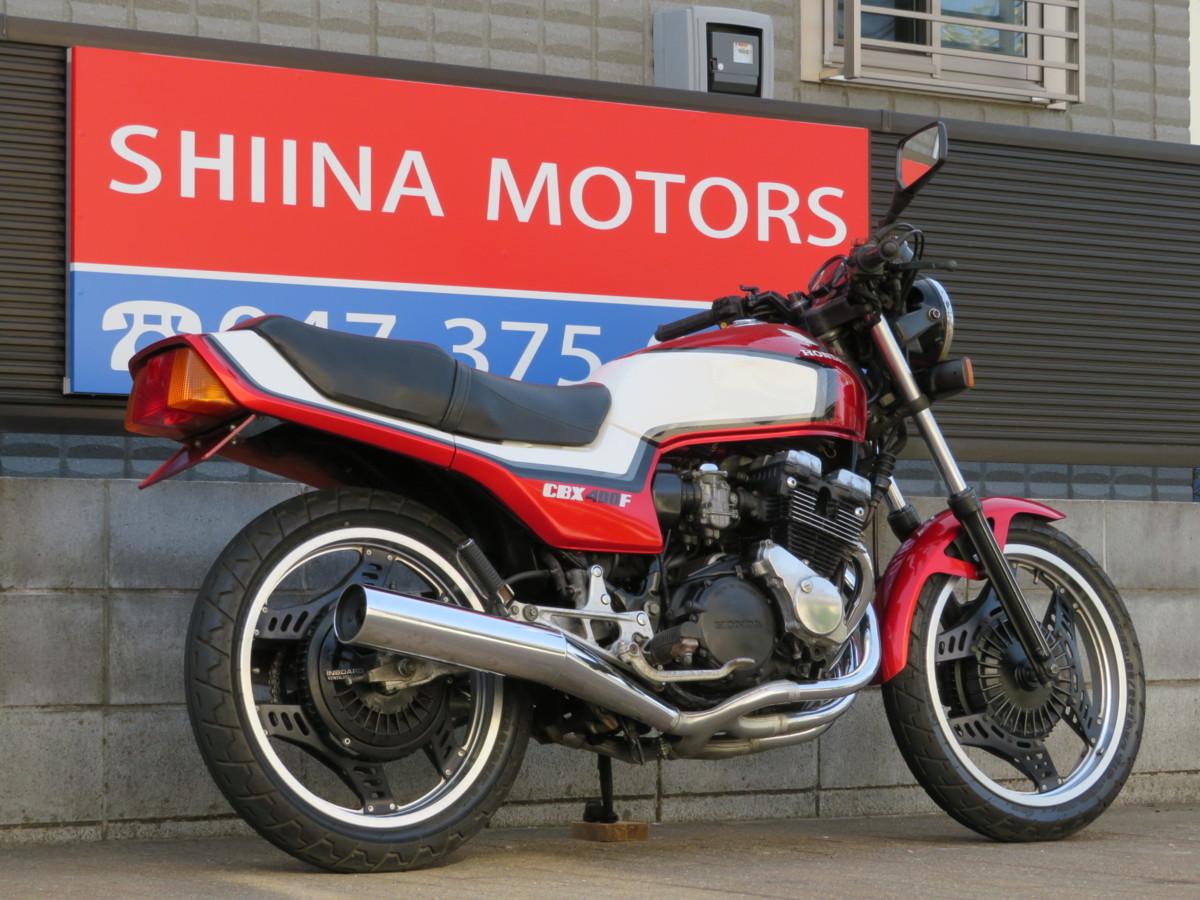 「■極上!エンジン載せ替えなし/2型/フレーム・エンジンNO14番違い!日本全国デポデポ間送料無料!ホンダ CBX400F 12998 NC07 車体 カスタム」の画像3