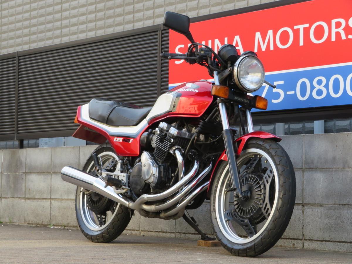 「■極上!エンジン載せ替えなし/2型/フレーム・エンジンNO14番違い!日本全国デポデポ間送料無料!ホンダ CBX400F 12998 NC07 車体 カスタム」の画像2