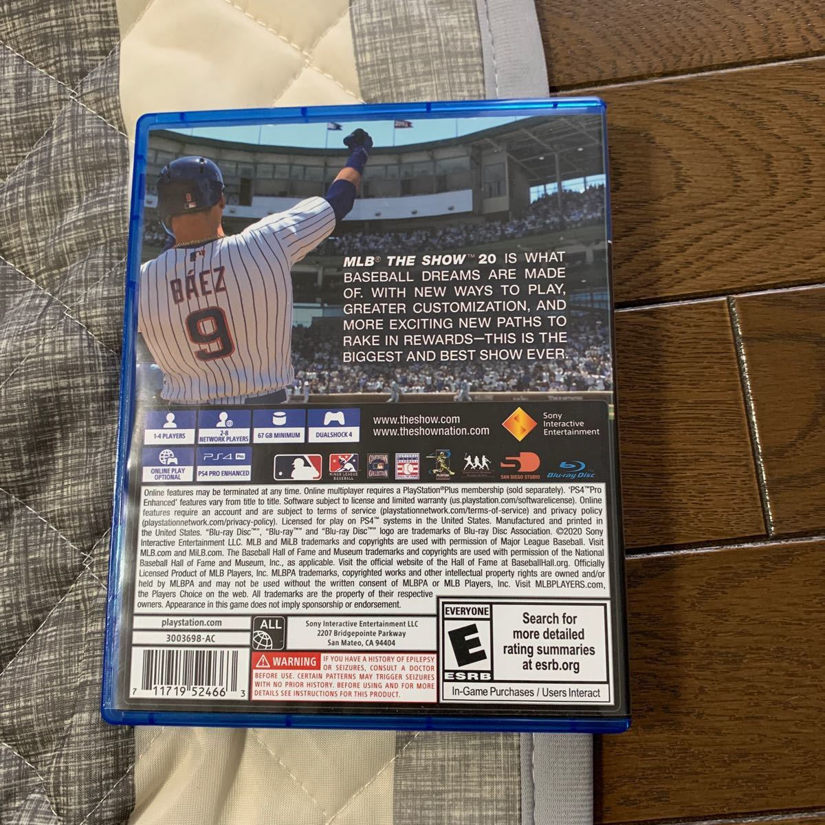 PS4ソフト 北米版