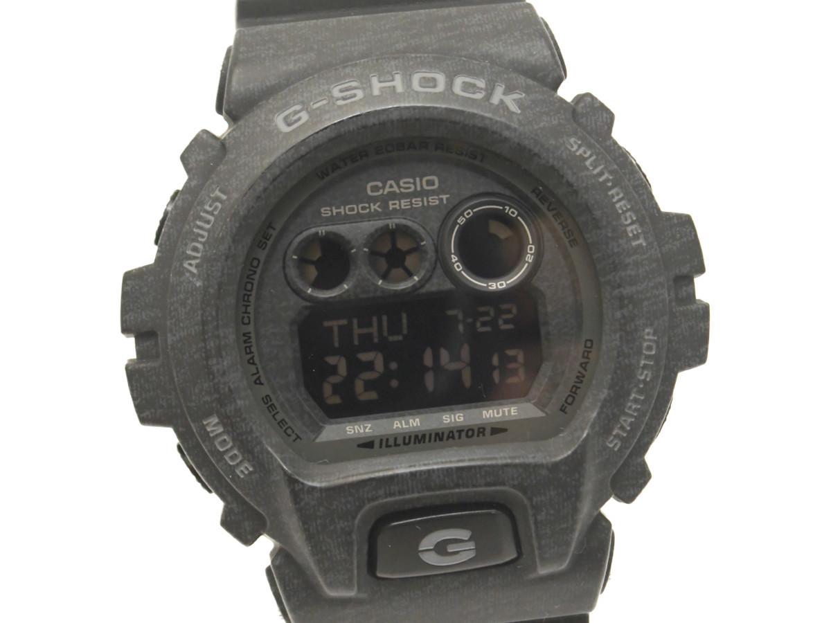 [美品] 動作OK【CASIO】カシオ G-SHOCK GD-X6900HT-1JF Heathered Color Series ヘザード