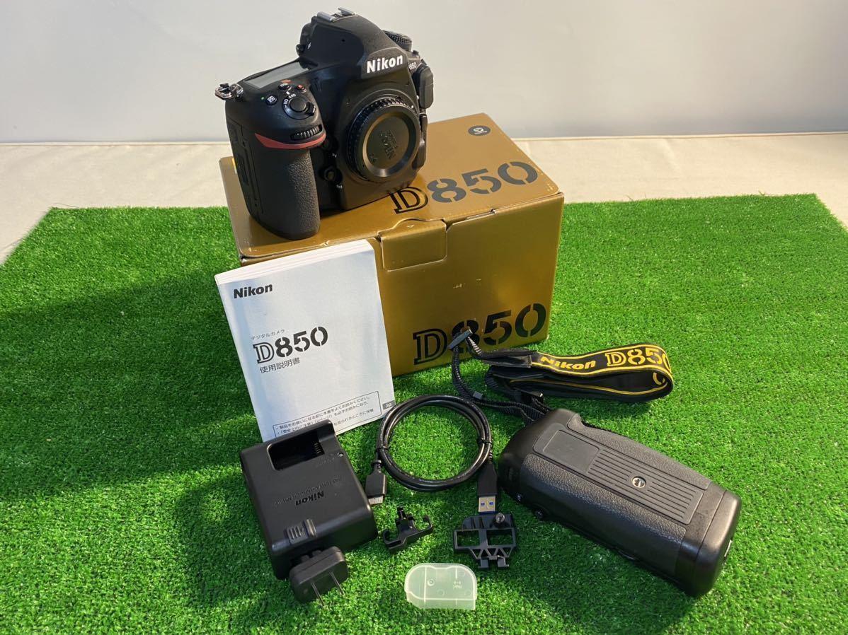 【美品 ショット数73回】Nikon ニコン D850ボディ 付属品