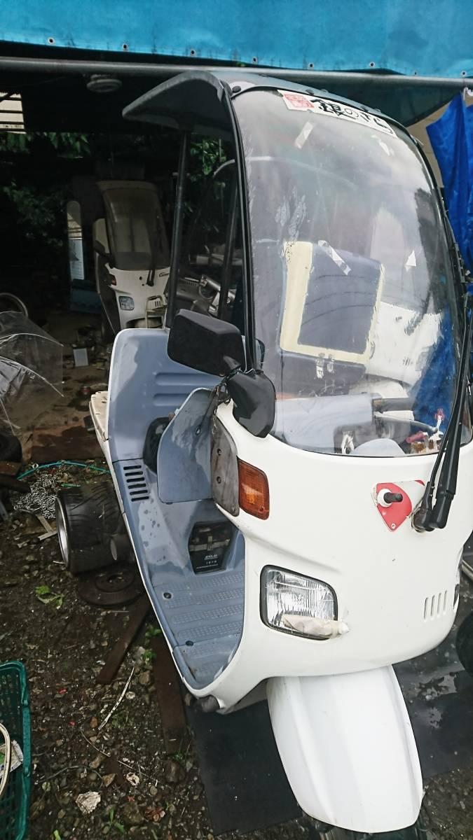 「ジャイロキャノピー ミニカー ワイドアルミ付き 規制前13番台 」の画像1