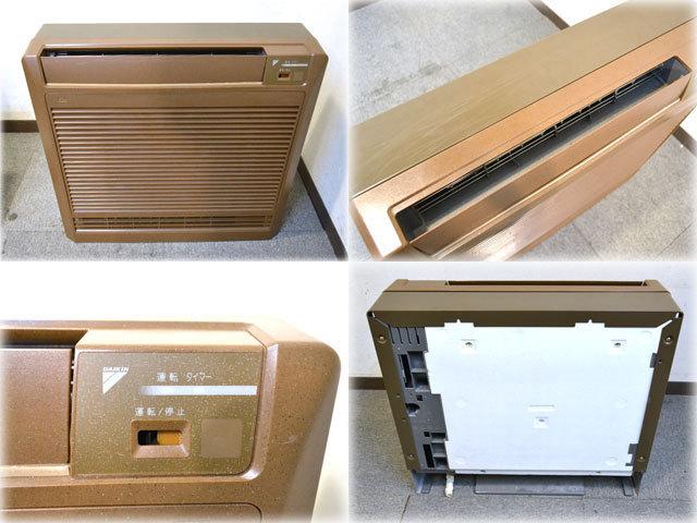 ダイキン工業 床置形エアコン S28CVV(-T) ブラウン色 主に10畳 単相200V 【安心取引】保証有_その他の画像は商品説明に掲載しています。
