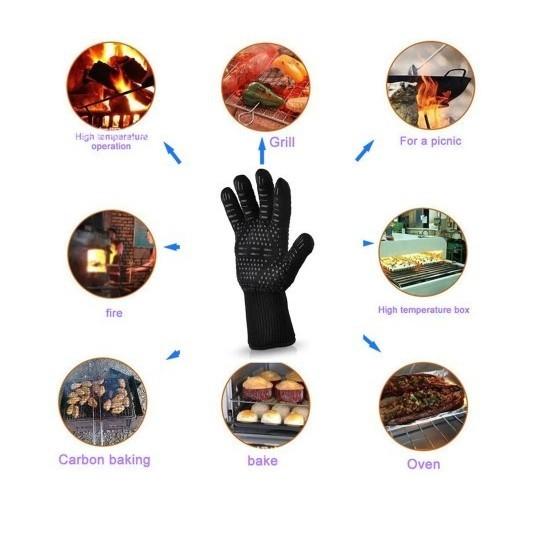 耐熱 手袋 グローブ アウトドア