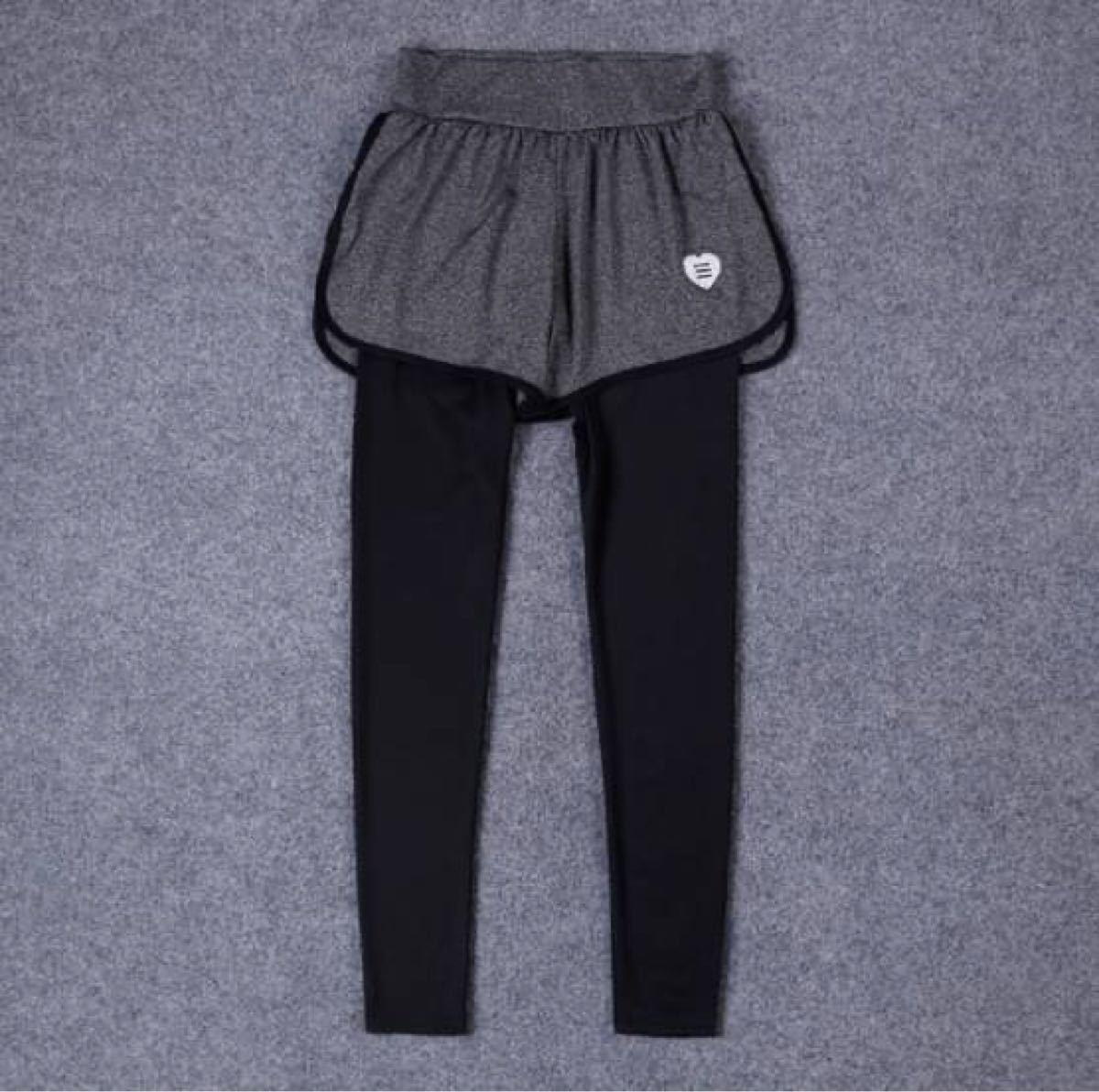 【トレーニングウェア 上下セット  M】 ショートパンツ レギンス Tシャツ