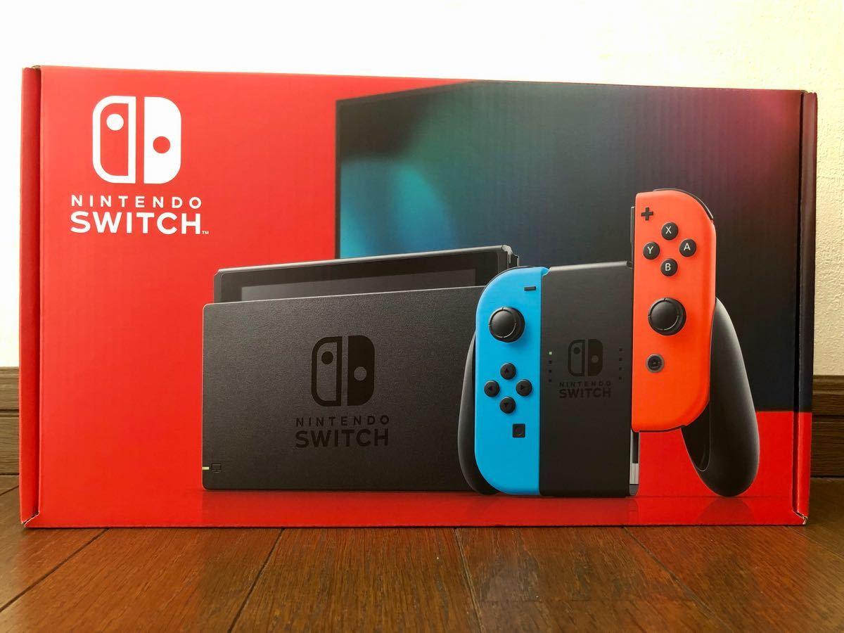 【新品 即日発送】Nintendo Switch JOY-CON(L) ネオンブルー/(R) ネオン