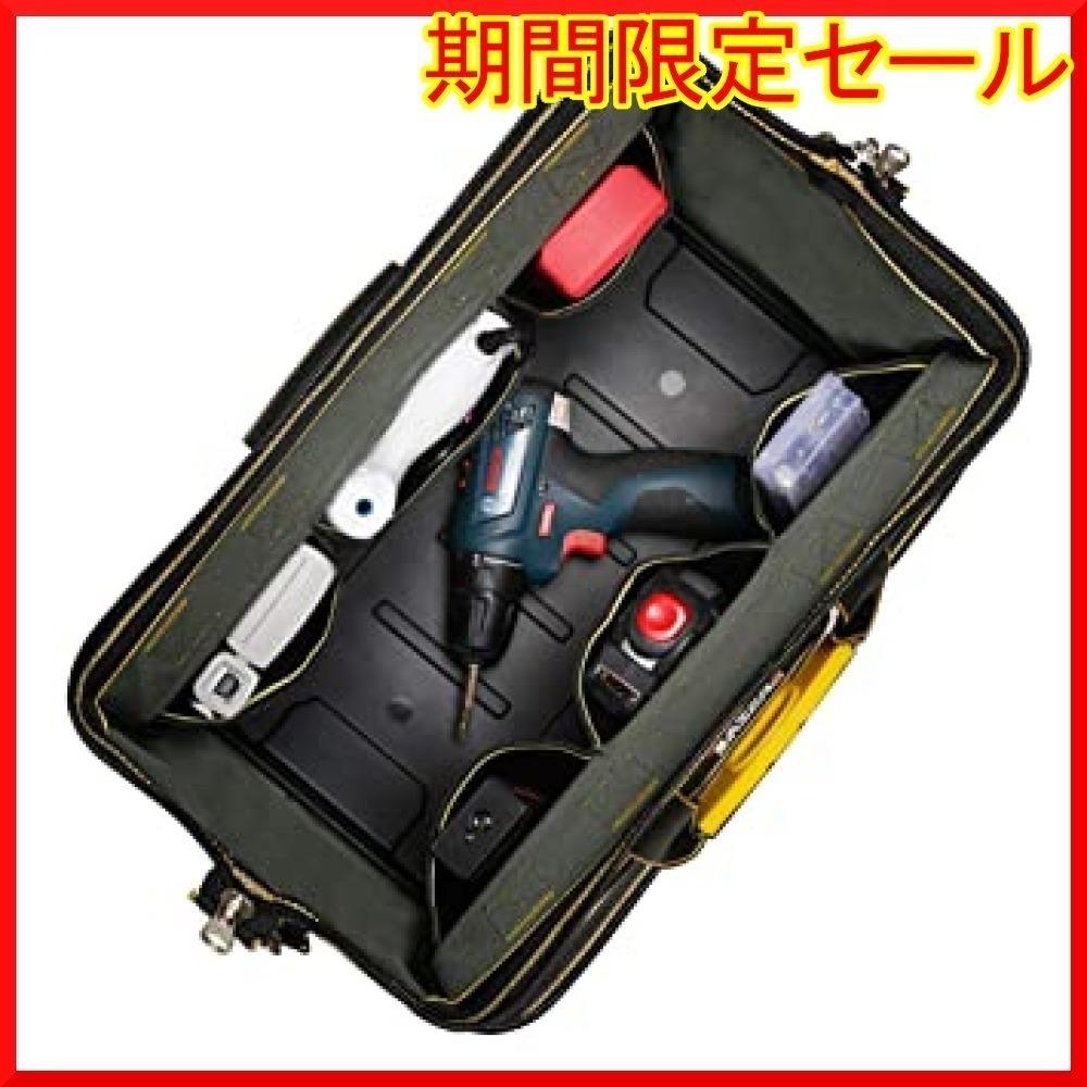 新品【★お勧め〇】9x19CM YZL ツールバッグ 工具袋 ショルダー ベルト付 肩掛け 手提げ 大口収納 差6932_画像5