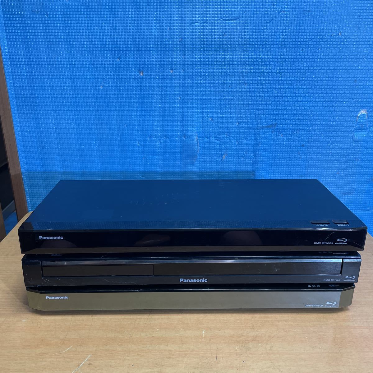 Panasonic DIGA ブルーレイディスクレコーダー DMR-BRW510・DMR-BZT760・DMR-BRW500 ★ジャンク品★ (3)