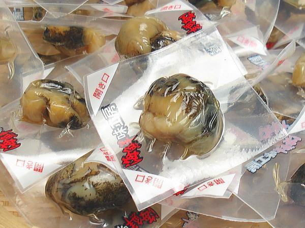 【北海道グルメマート】北海道限定品 海鮮味工房 珍味 つぶ燻油漬け 55g _画像2