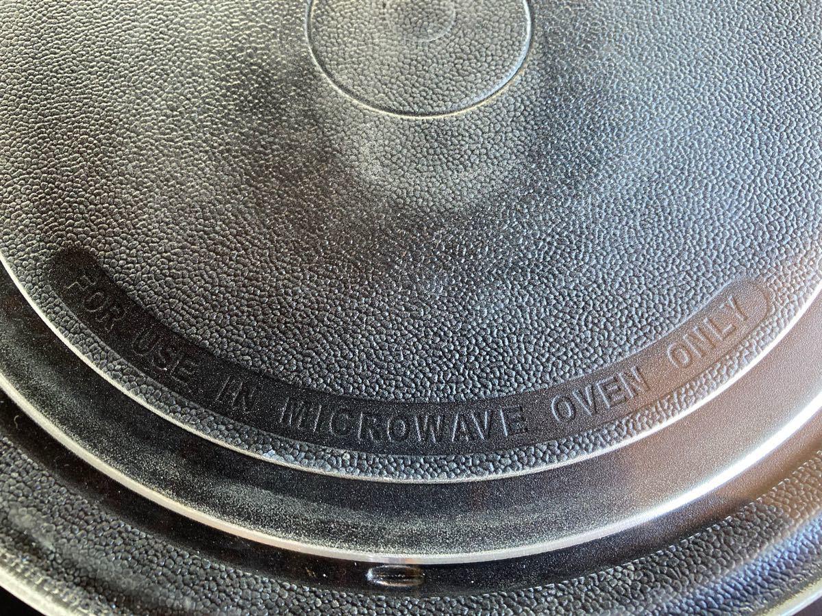 電子レンジ ガラス皿 ターンテーブル 耐熱皿