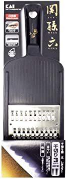 ブラック 本体サイズ:10×29.5×3cm 貝印 KAI 千切り器 関孫六 太 レギュラー 日本製 DH3329_画像7