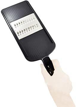 ブラック 本体サイズ:10×29.5×3cm 貝印 KAI 千切り器 関孫六 太 レギュラー 日本製 DH3329_画像5