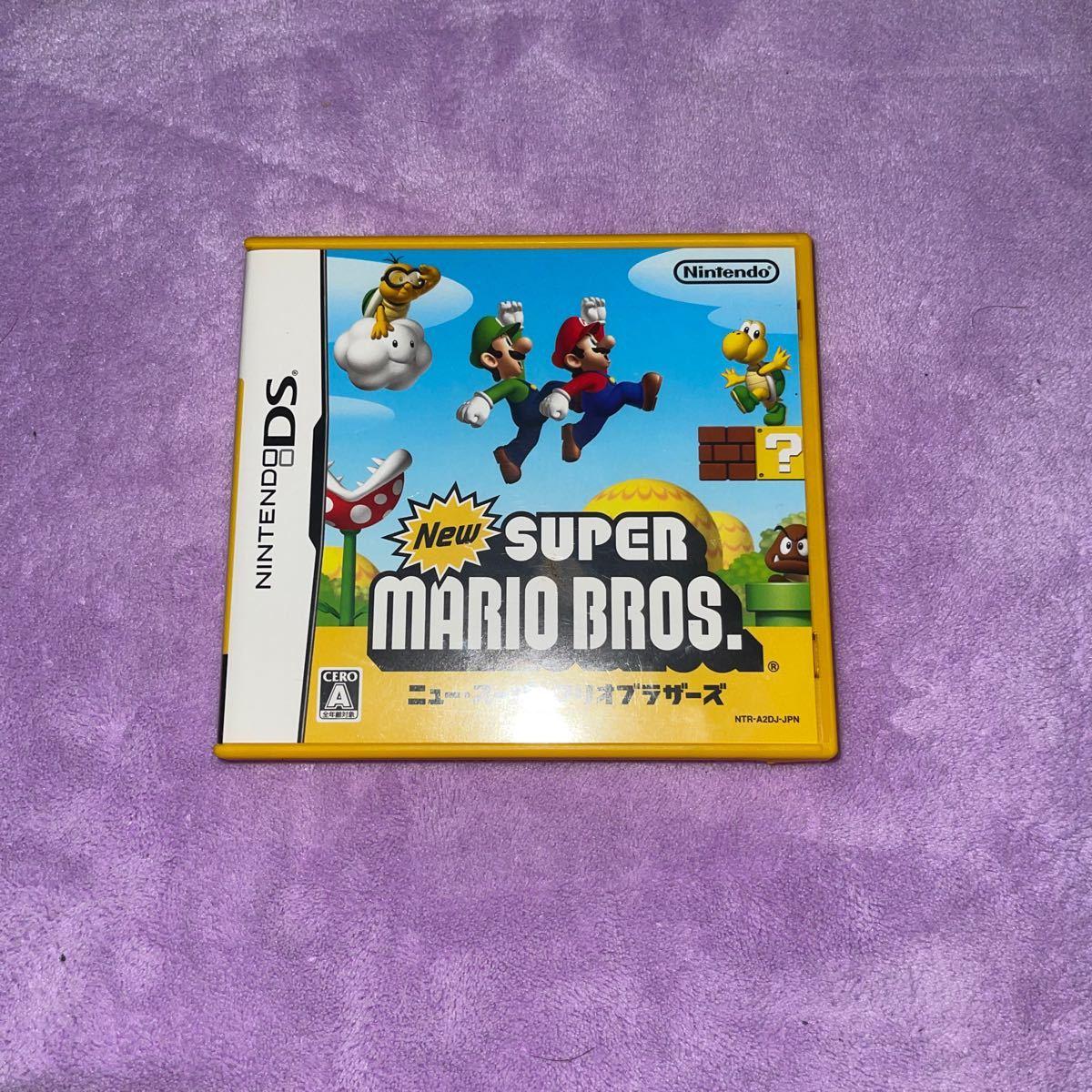 ニュースーパーマリオブラザーズ DSソフト ニュー・スーパーマリオブラザーズ ニンテンドーDS SUPER MARIO BROS