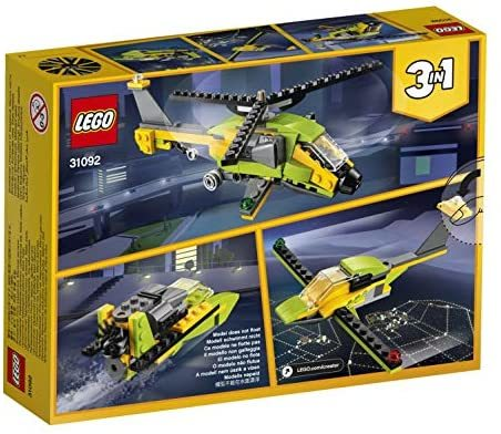 レゴ(LEGO) クリエイター ヘリコプター・アドベンチャー 31092 知育玩具 ブロック おもちゃ 女の子 男の子_画像7