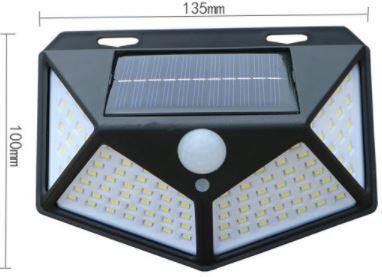 [ 送料無料 ] 2個 セット センサーライト ソーラーライト 人感 LED ソーラーパネル 防犯灯 外灯 防水 玄関灯_画像9