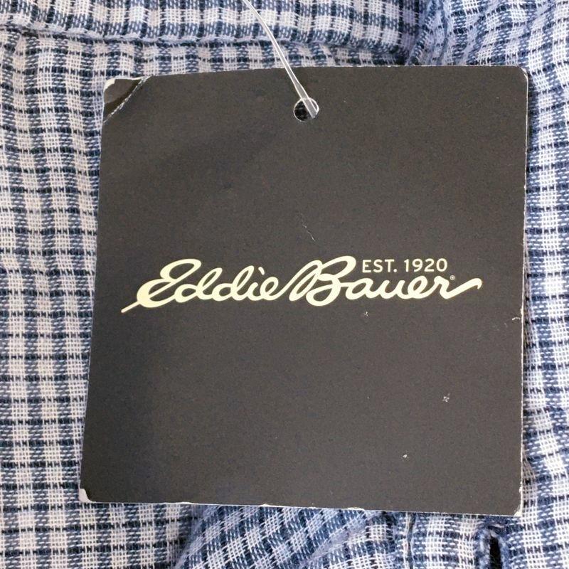 《郵送無料》■Ijinko◆新品☆エディーバウアー Eddie Bauer Classic fit クラシックフィット M サイズ長袖シャツ