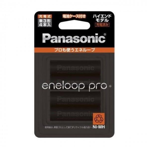 *[ new goods unused unopened ]4 piece set * Panasonic Panasonic Eneloop PRO single 3 shape rechargeable battery 4ps.@ pack high capacity model eneloop pro BK-3HCD/4C