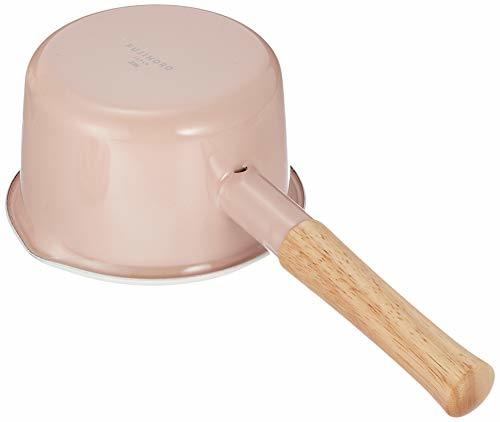 富士ホーロー(Fuji Horo) ピンク 富士ホーロー 片手鍋 ミルクパン コットンシリーズ アッシュ 14cm_画像4