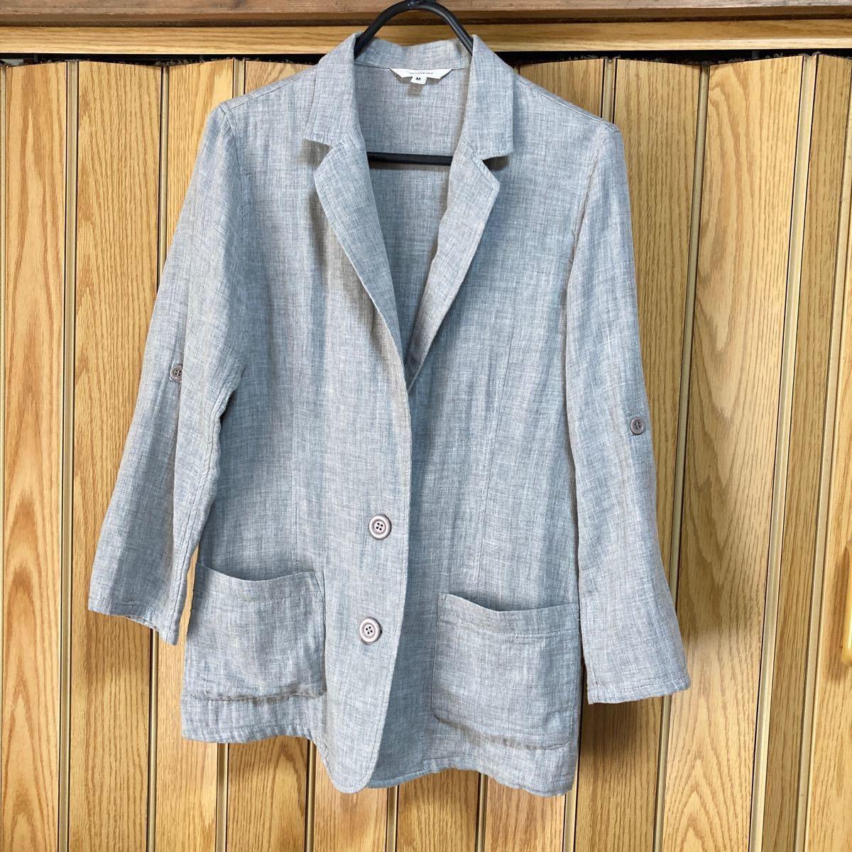 ジャケット  綿 100% テーラードジャケット