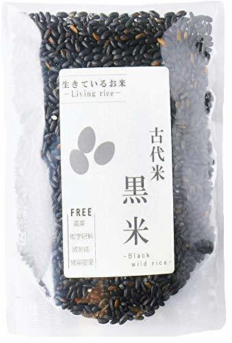 新品1kg 500g お試し250g 生きているお米の黒米 無農薬 有機栽培の古代米 残留農薬 放射能ゼロ 真空チャA44S_画像1
