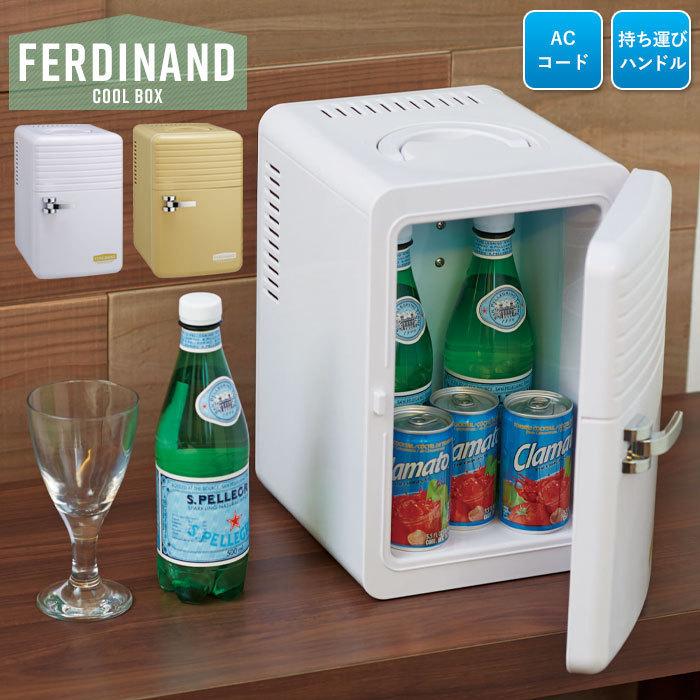 【訳あり】ミニ 冷蔵庫 保冷庫 6L ペットボトル 保冷 冷やす 小型 コンパクト AC 寝室 一人暮らし ナチュラルブラウン M5-MGKAK00038BR_画像1