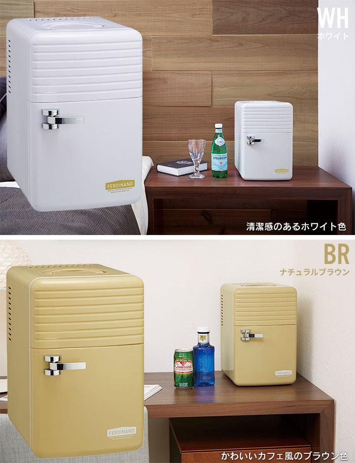 【訳あり】ミニ 冷蔵庫 保冷庫 6L ペットボトル 保冷 冷やす 小型 コンパクト AC 寝室 一人暮らし ナチュラルブラウン M5-MGKAK00038BR_画像6