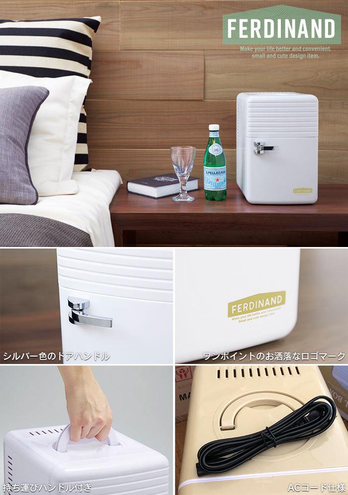 【訳あり】ミニ 冷蔵庫 保冷庫 6L ペットボトル 保冷 冷やす 小型 コンパクト AC 寝室 一人暮らし ナチュラルブラウン M5-MGKAK00038BR_画像3