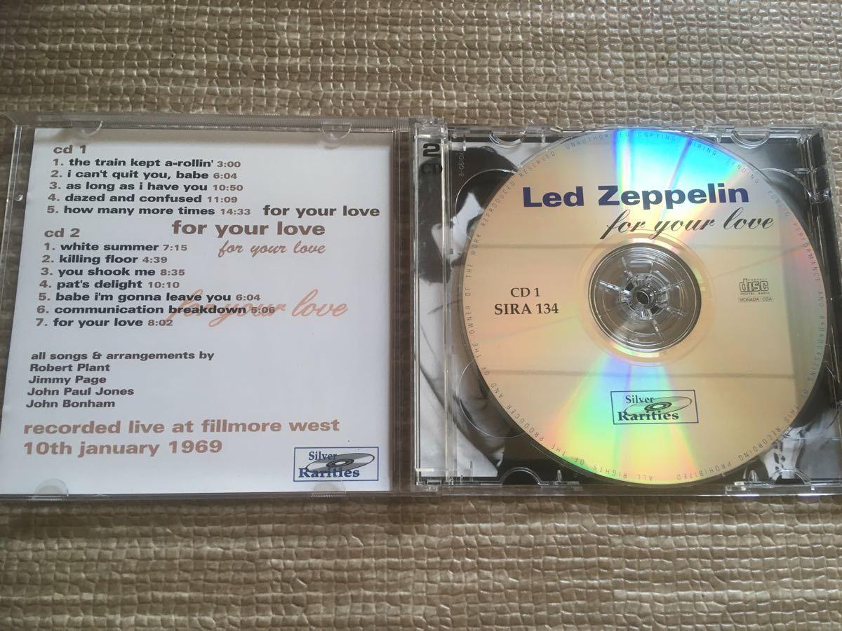 LED ZEPPLIN for your love レッドツェッペリン