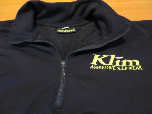 KLIM クライム プルオーバーフリース USA製 Mサイズ_画像3