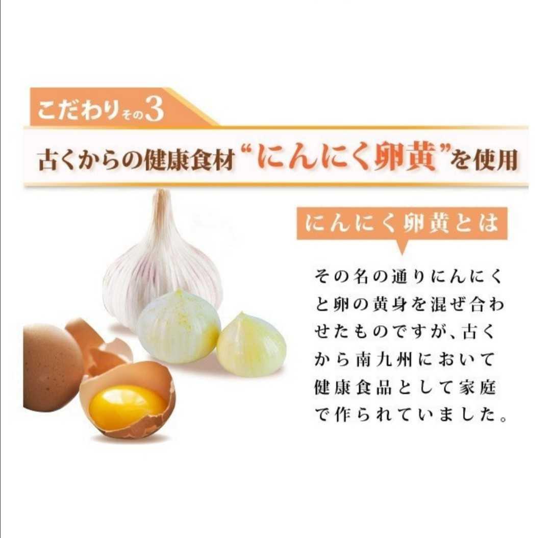 送料無料【3ヶ月分】サプリ サプリメント すっぽん黒酢+にんにく卵黄 約3ヵ月分 アミノ酸 無臭にんにく 送料無料 ダイエット  _画像5