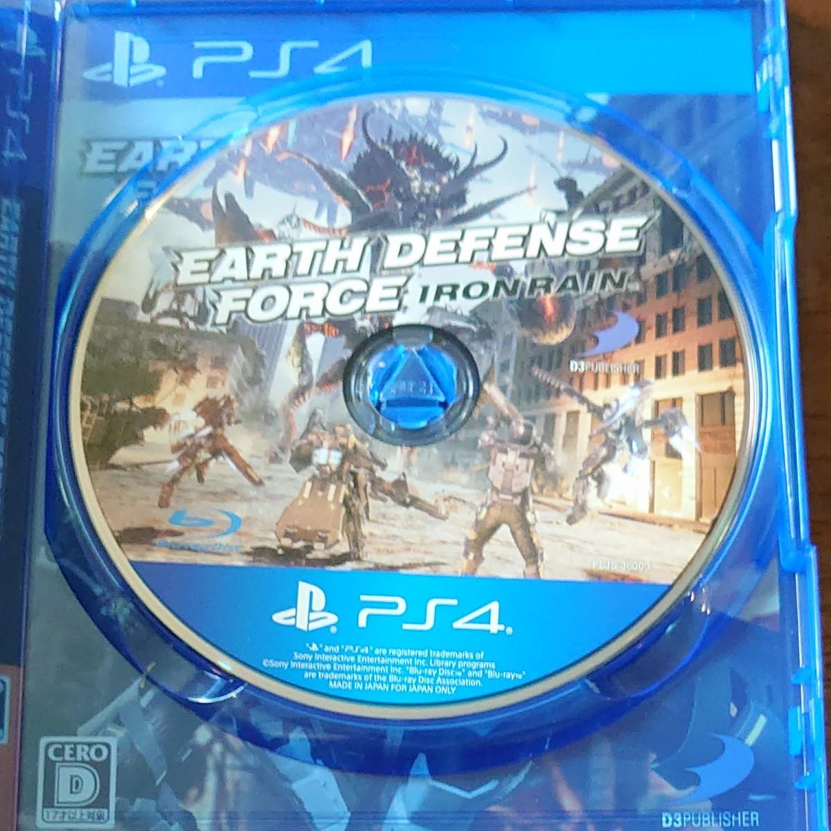 PS4ソフト  EARTH DEFENSE FORCE IRON Rain EDF PS4
