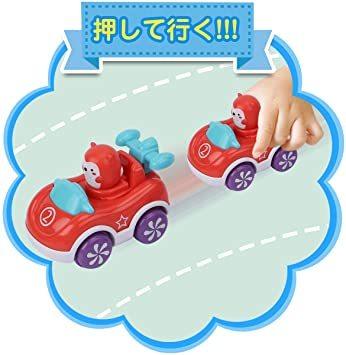 赤ちゃんおもちゃ 車おもちゃ ミニカー 四個入り 動物 カーズ 車両 知育玩具 子供向け ベビーおもちゃ 男の子 女の子 幼児_画像3