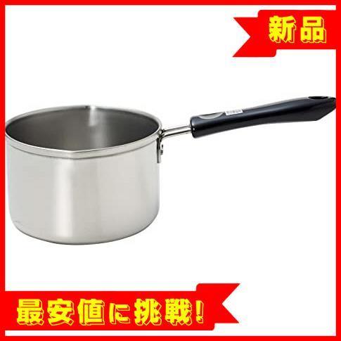 【最安!残1!】13cm IH対応 ミルクパン ステンレス デイズキッチン パール金属 日本製 H-5171_画像1