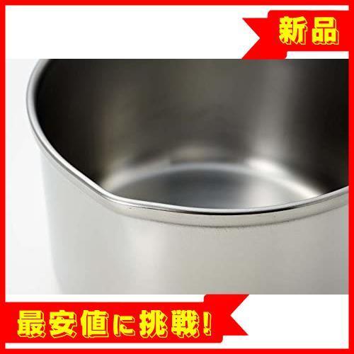 【最安!残1!】13cm IH対応 ミルクパン ステンレス デイズキッチン パール金属 日本製 H-5171_画像3