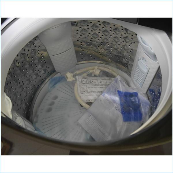 [DSE] 1円~東芝:ZABOON(ザブーン)AW-10SD8 T グレインブラウン ウルトラファインバブル洗浄Wダブル 上開き 10.0kg20年製未使用品:訳アリ_画像3