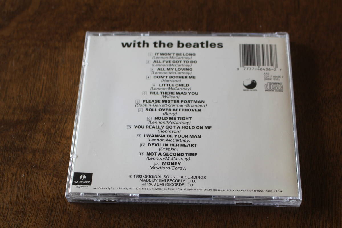 ■送料無料■WITH THE BEATLES ウィズ・ザ・ビートルズ■ビートルズ THE BEATLES■_画像4