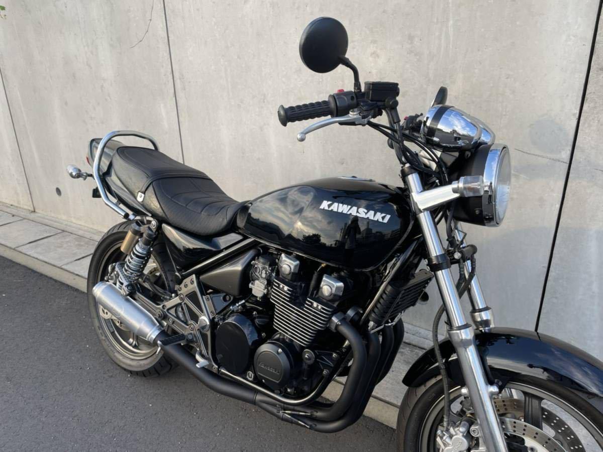 「【超希少車両】Kawasaki ゼファー400χ 初期型G1 SOX購入 モリワキ オールペイント」の画像2