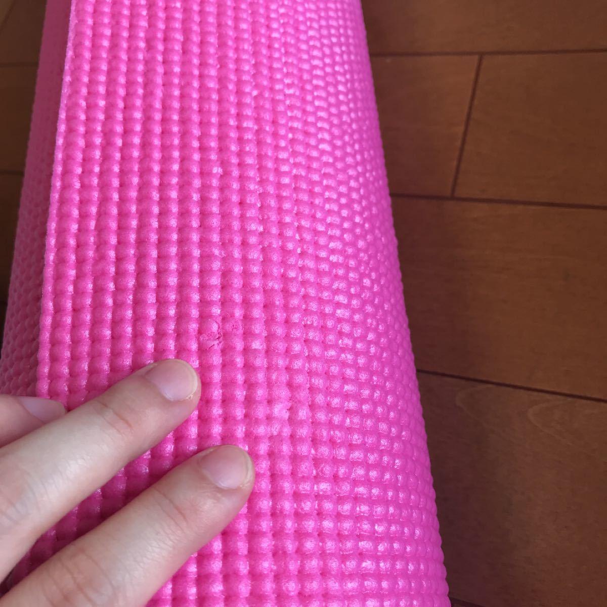 再値下げ ヨガマット ペア ピンク パープル エクササイズ