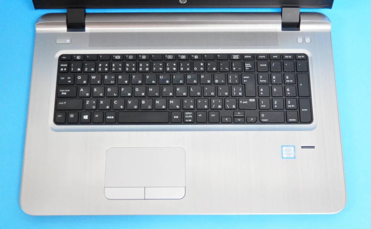♪良品 上位モデル ProBook 470G3♪ RadeonR7 M340搭載 大画面17.3 Corei3 6100U/メモリ8GB/SSD:256GB+HDD 500GB/カメラ/Office2019/Win10_画像2