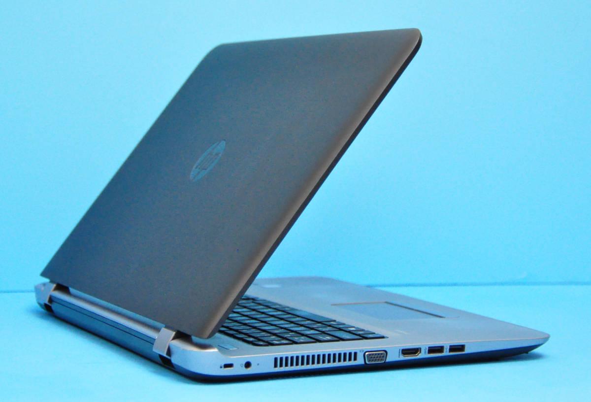 ♪良品 上位モデル ProBook 470G3♪ RadeonR7 M340搭載 大画面17.3 Corei3 6100U/メモリ8GB/SSD:256GB+HDD 500GB/カメラ/Office2019/Win10_画像5